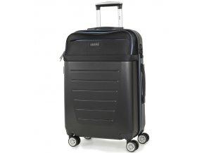 Cestovní kufr ROCK TR-0166/3-M ABS/PES - černá
