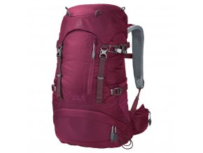 Jack Wolfskin ACS HIKE 24 WOMEN PACK dark ruby
