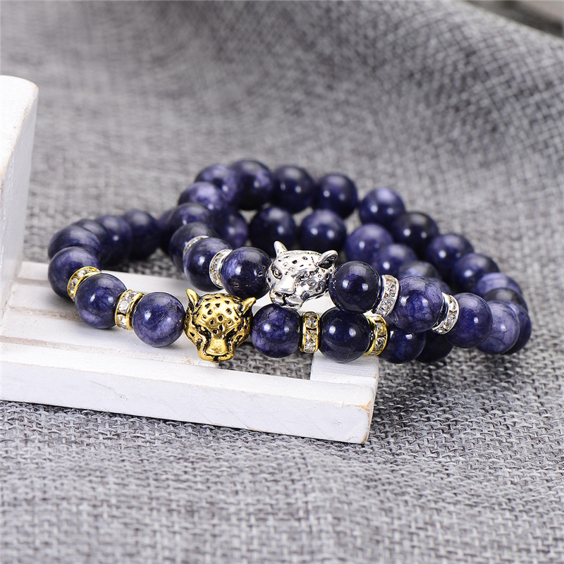 2017-Newest-Natural-Stone-Bead-Bracelet-For-Men-Antique-Gold-Silver-Color-Charm-Bracelets-Bangles-For_26