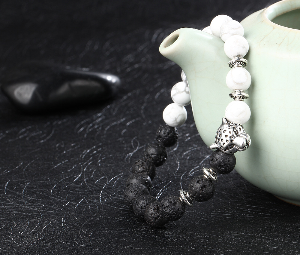 Natural-black-volcanic-rock-loose-circle-of-prayer-beads-hand-string-bracelet-jewelry-wholesale-leopard-head_20