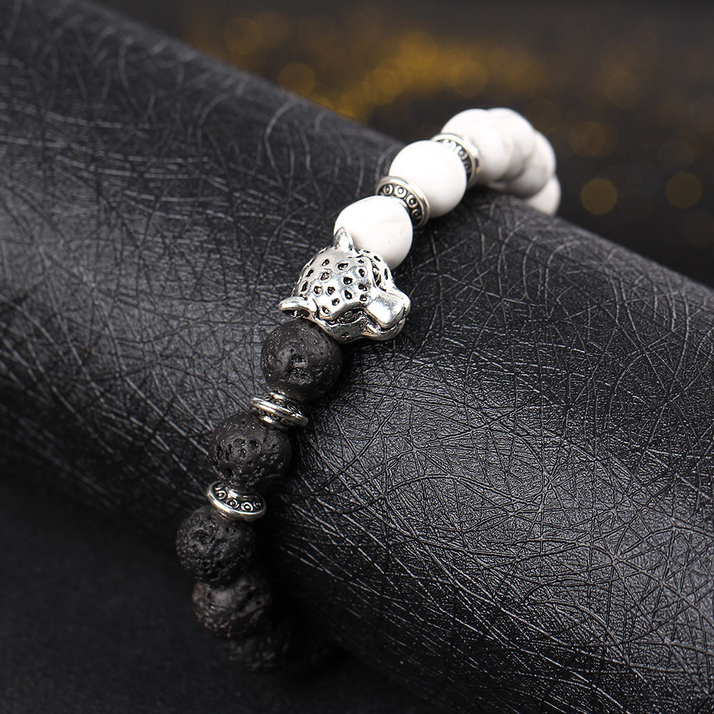 Natural-black-volcanic-rock-loose-circle-of-prayer-beads-hand-string-bracelet-jewelry-wholesale-leopard-head_23