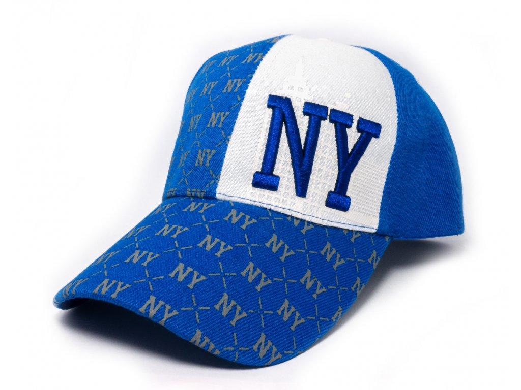 Kšiltovka NY modrá