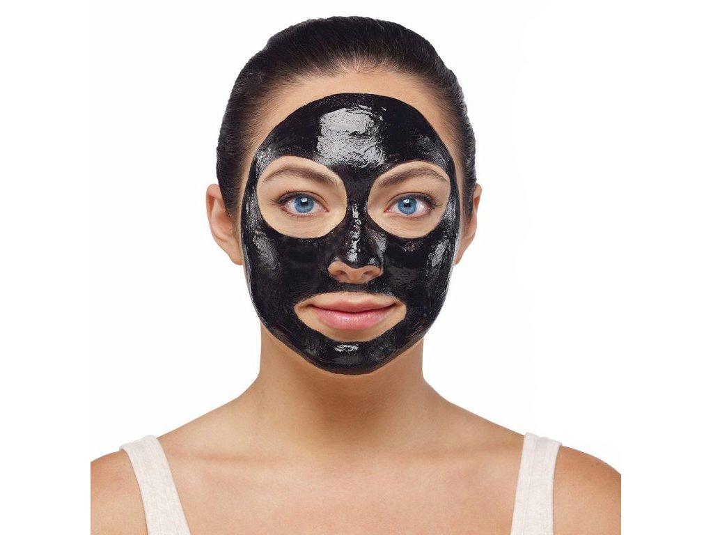 Slupovací maska proti černým tečkám