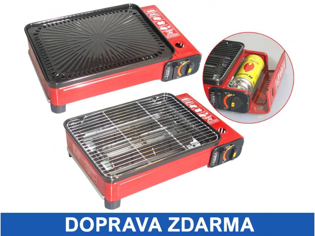 prenosny velky plynovy gril rsonic s ochrannym kufrikem zdarma