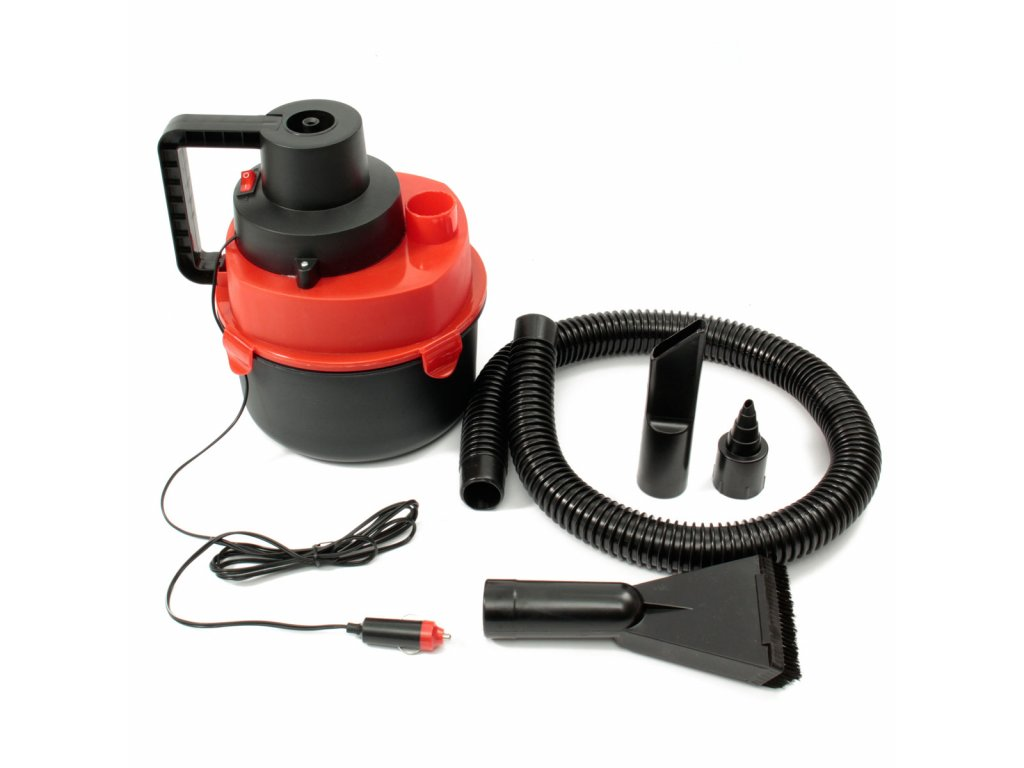 Portable Wet Dry Canister Mini Car Boat Handheld Vacuum Cleaner Air Inflating Pump 12V DC 90W (1)