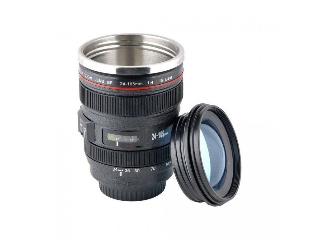 hrnek pro fotografy objektiv