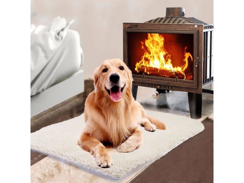 2 Pet Self heating Blanket Winter High Quality Dog Cat Warm Sleep Mattress Small Medium Dog Cat