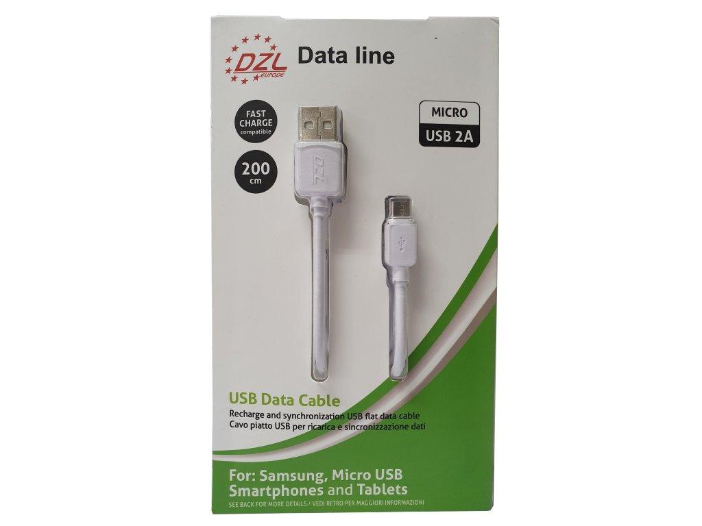 103409 nabijeci kabel micro usb 200 cm