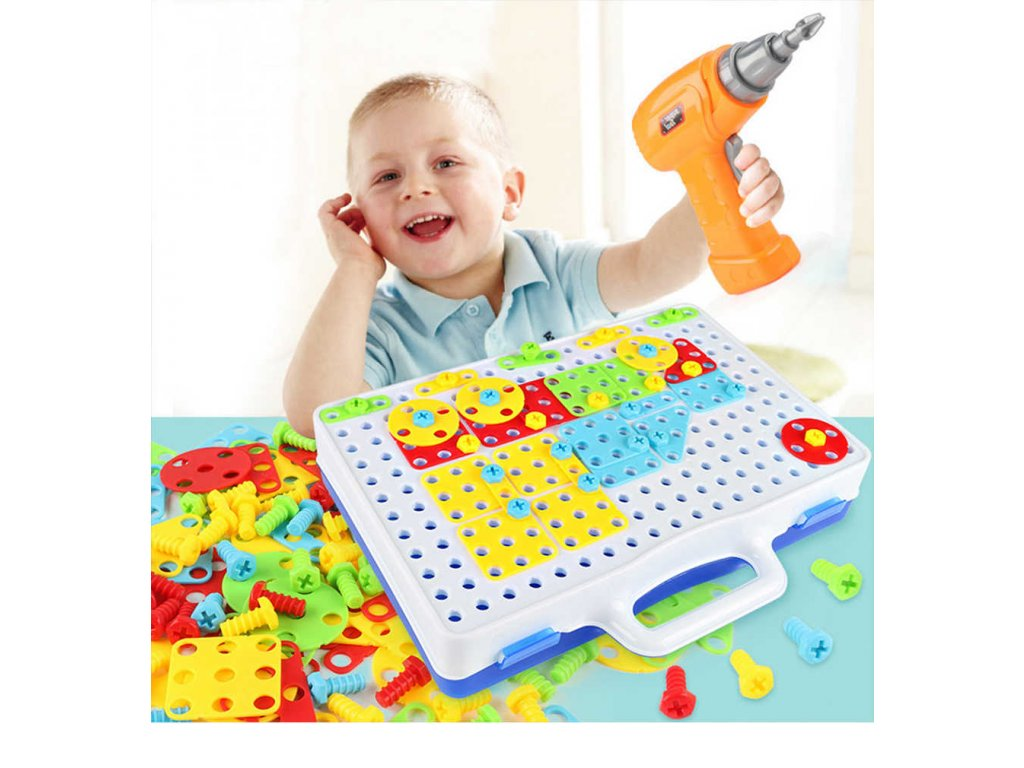 Toys For Boys Electric Drill Nut Puzzle Disassembly Children s Tools Set Educational Toys For Children.jpg q50