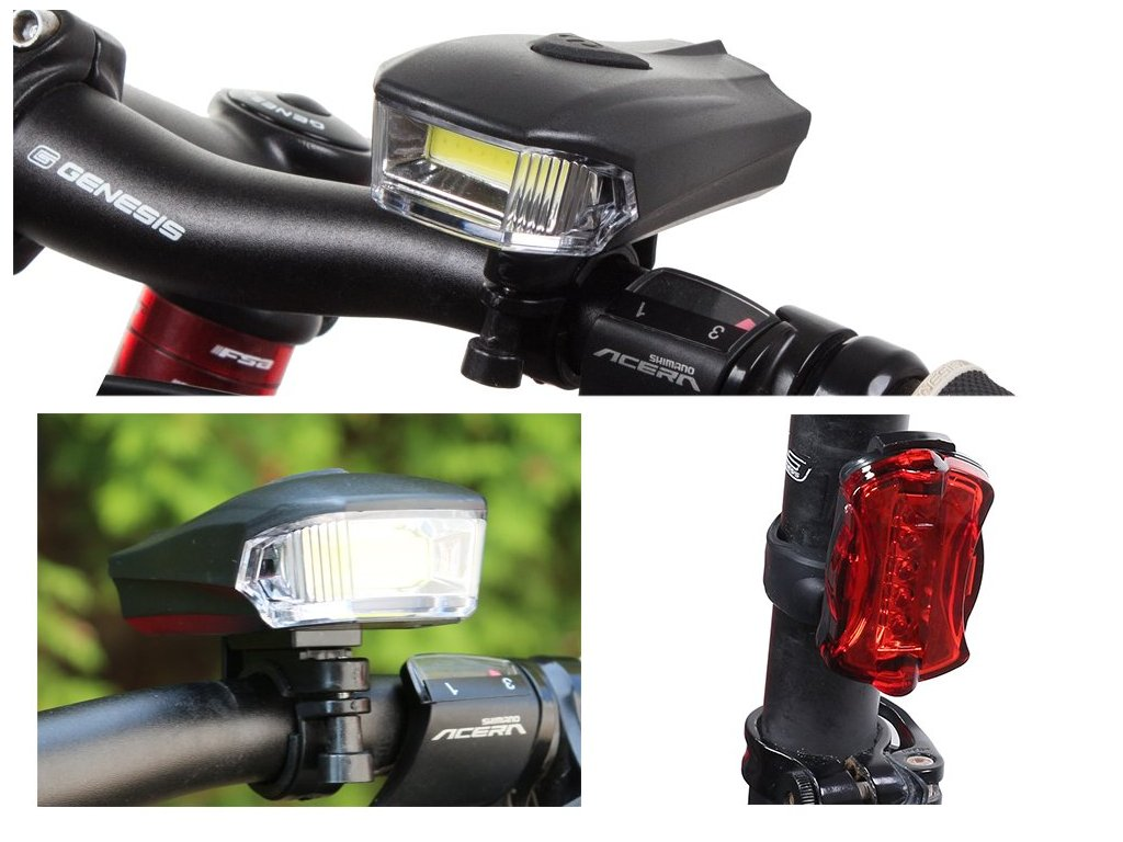 eng pl Bicycle Lights Front Rear Lights 711 1 3