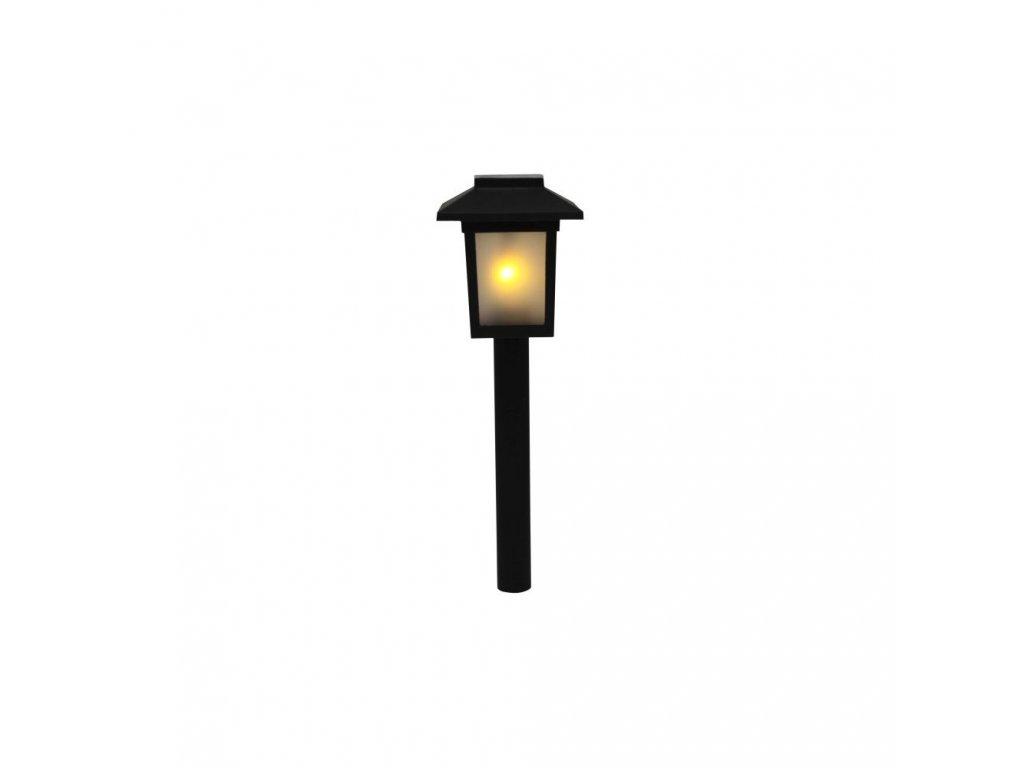 Solární lampa s motivem plamene 34,5 cm