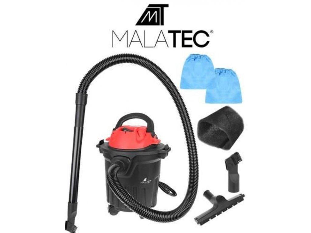 Průmyslový vysavač 15L 1600W Malatec