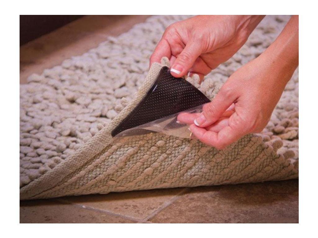 Protiskluzové podložky pod koberec - 4ks