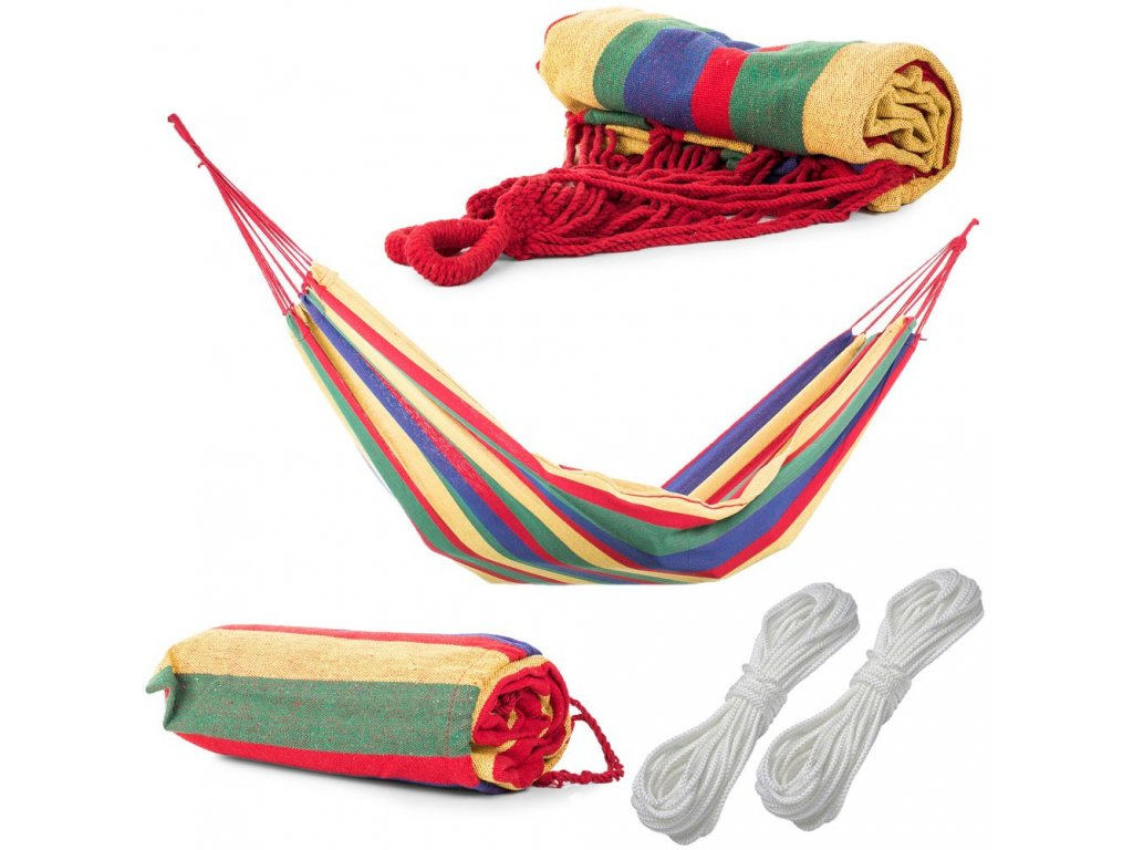 eng pl Garden hammockr rocking chair colorful cover 200x80 96 10