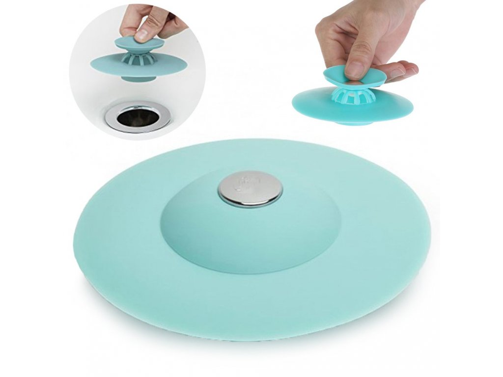 eng pl Silicone Stopper With Sink For Bathtub Sink 1876 1