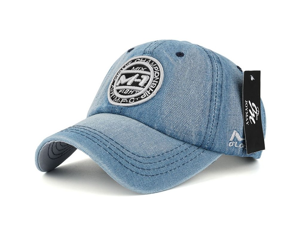 New arrival high quality snapback cap demin baseball cap 5 color Jean badge embroidery hat for 13