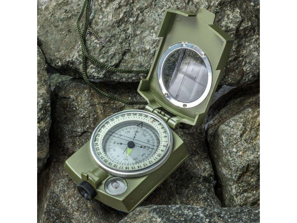 Kompas Prismatic zaměřovací s pouzdrem