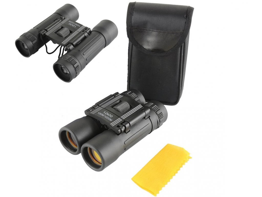 Dalekohled - Binocular Outdoor 12x30 zoom  + Příslušenství ZDARMA