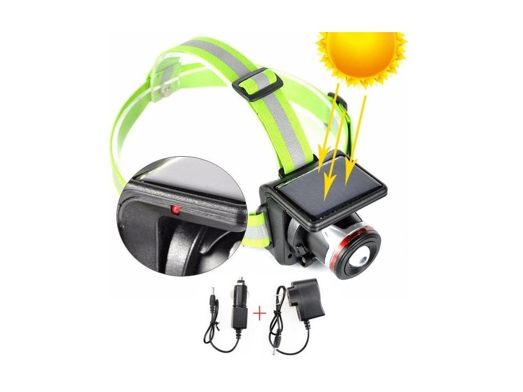 BORUIT New XPE LED Frontal Led Headlamp Headlight Flashlight Solar Rechargeable Linternas Lampe Torch Head lamp grande