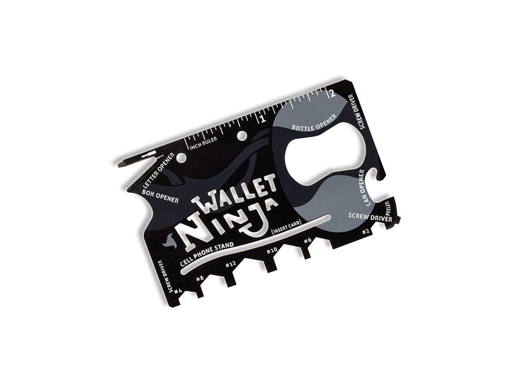 Wallet Ninja 18v1 - Multifunkční karta