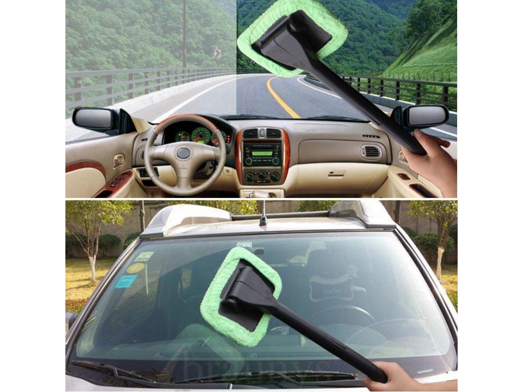 Čistící stěrka do auta z mikrovlákna