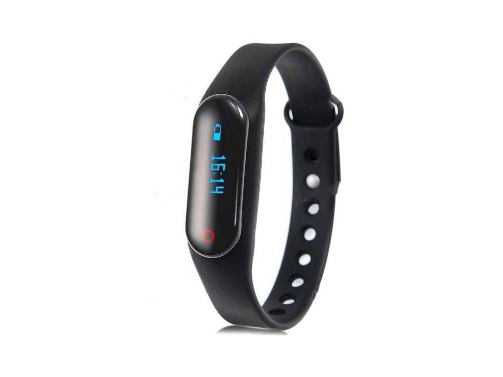 little black smart bracelet pedometer sleep monitor sports tracker e 476752 (1)
