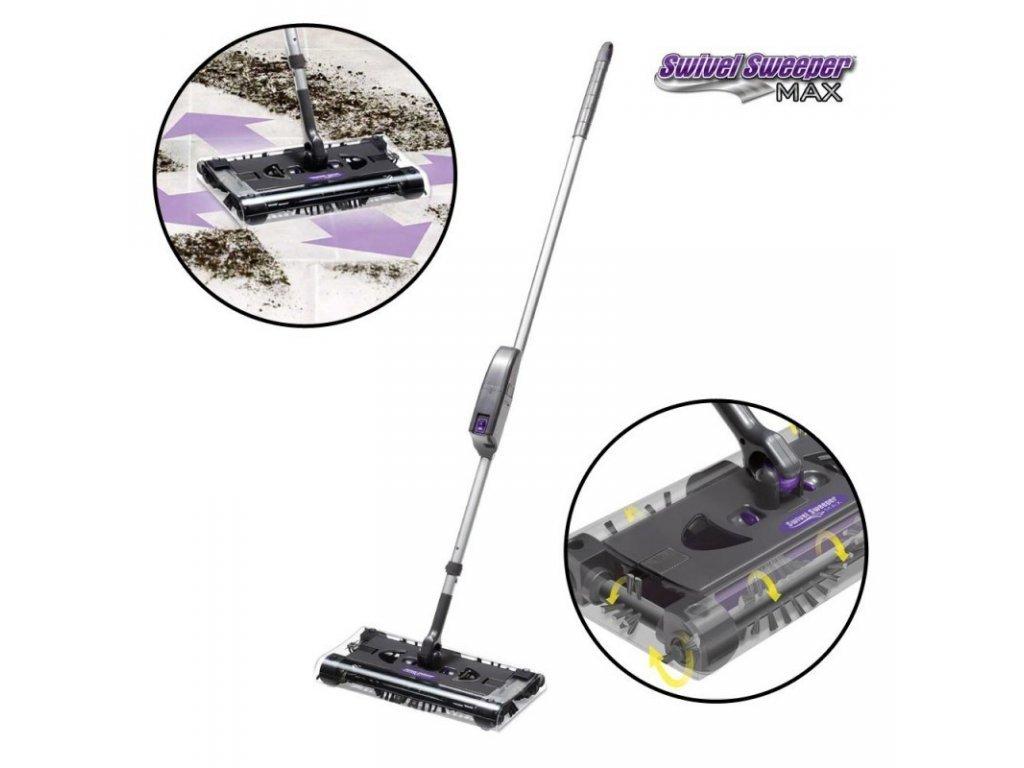Podlahový elektrický kartáč SWIVEL SWEEPER MAX  + Příslušenství ZDARMA
