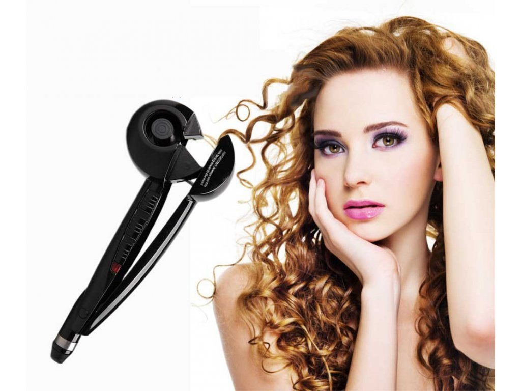 Kulma na vlasy PRO Perfect Curl černá