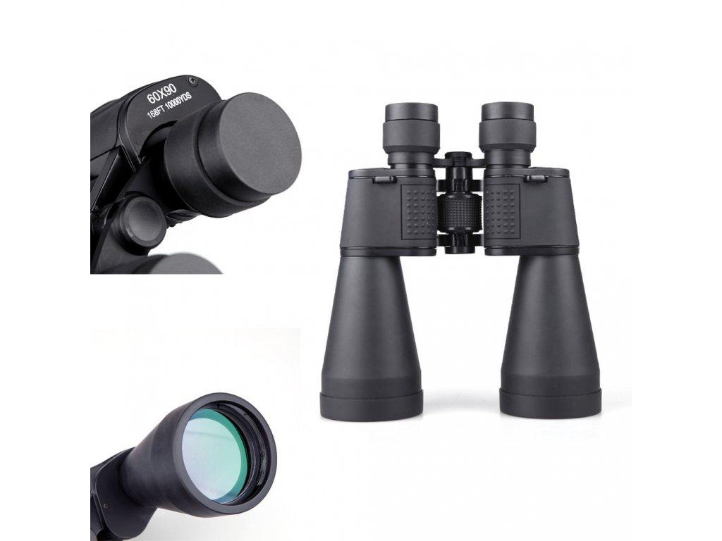 Portable Binoculars 60X90 High Definition Portable Binocular Telescope Military Telescopic Scope Combat BOSMA Binocle For Army 7