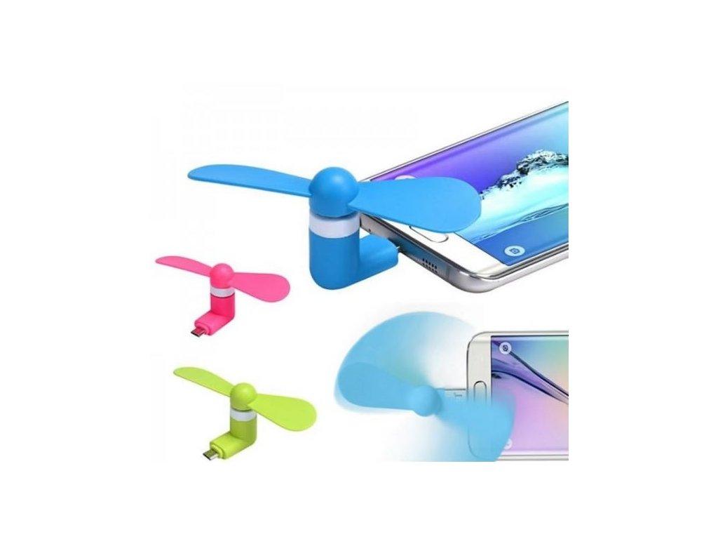 Micro USB větráček