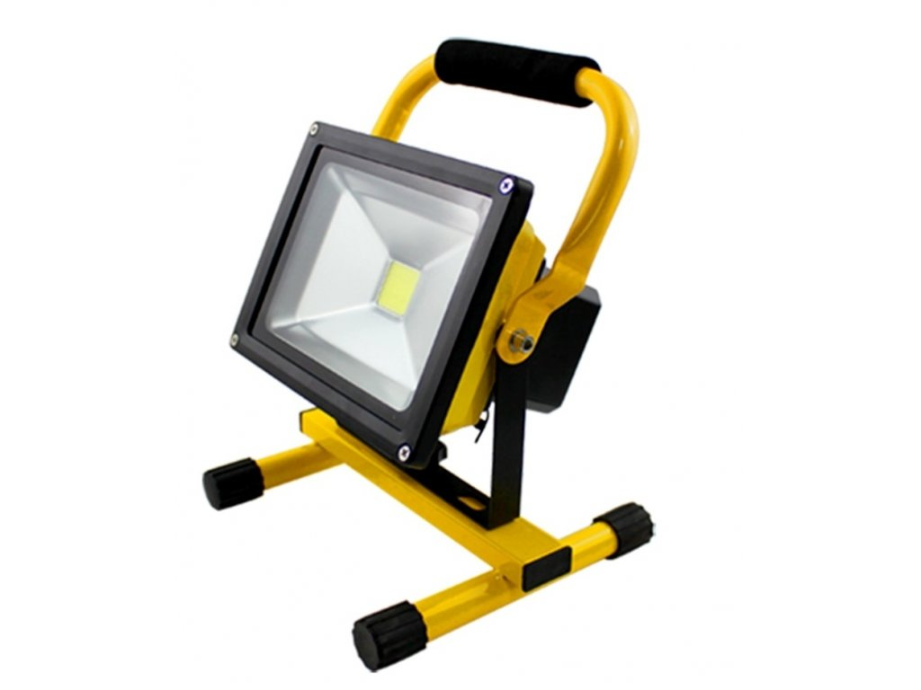 Waterproof IP65 LED Flood Light 30W LED Rechargeable Flood Light Portable Camping Fishing Light Indoor Outdoor 2