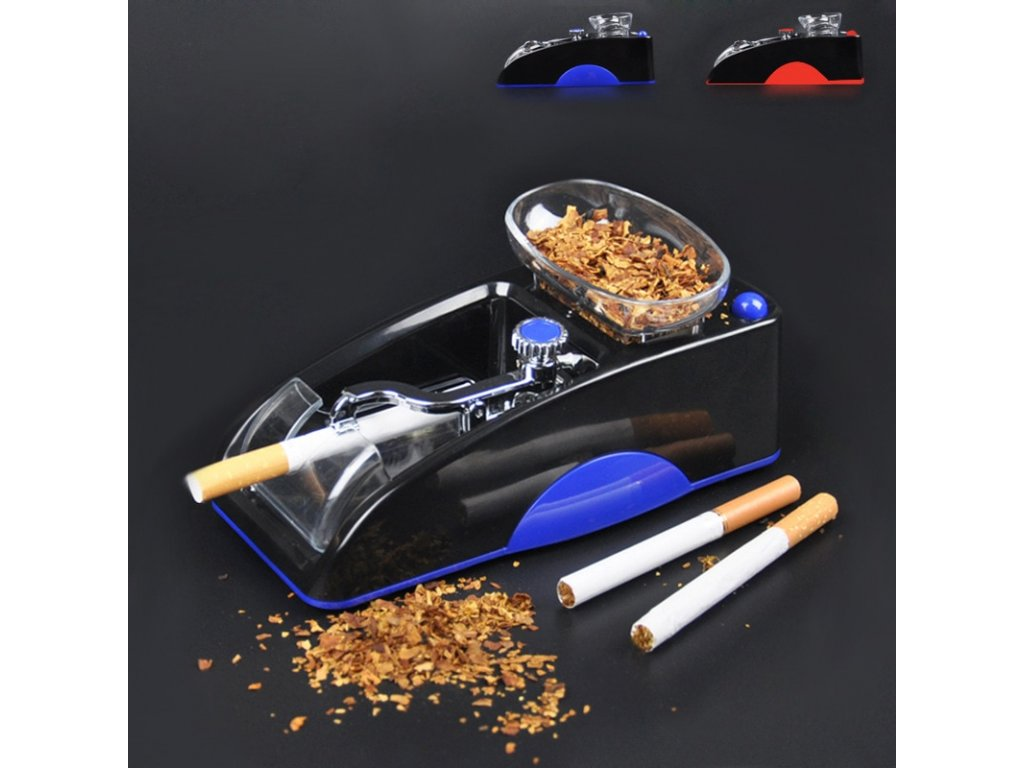 0 Electric Cigarette Machine Easy Automatic Making Rolling Machine Tobacco Electronic Injector Maker Roller DIY Smoking Tool