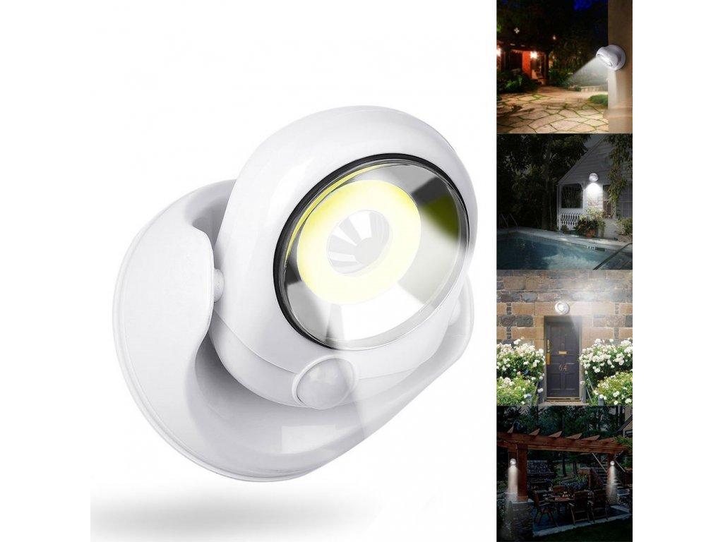 Bezdrátové venkovní světlo COB LED s čidlem Atomic Angel