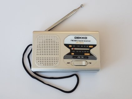 Malé přenosné rádio FM AM New
