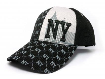Kšiltovka NY černá