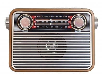 prenosne retro radio s prehravacem mp3 usb sd karta meier m 180bt bezove