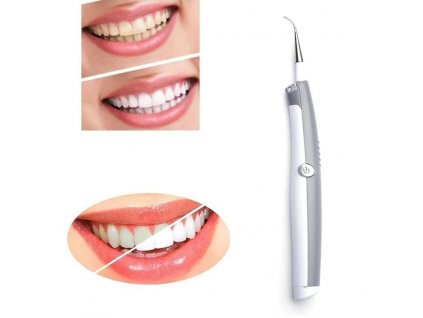 0 1pcs Whitening Sonic Tooth Pic Stain Eraser Plaque Remover Dental Cleaning Tool Kit Teeth Electric Sonic