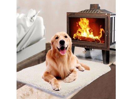 2 Pet Self heating Blanket Winter High Quality Dog Cat Warm Sleep Mattress Small Medium Dog Cat