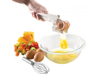 0 Plastic Handheld EZ Cracker Egg Cracker Separator Egg Home Restaurant Kitchen Gadget Egg Tools Drop Ship