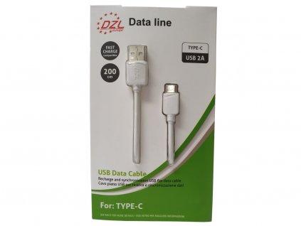 103412 nabijeci kabel usb c 200 cm
