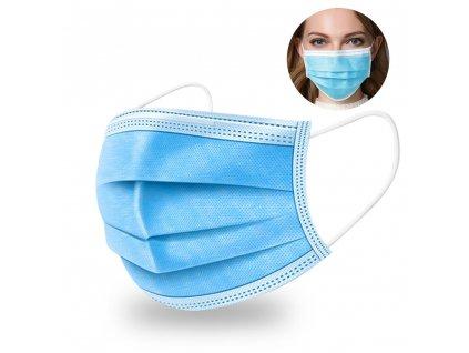 Hygienická ochranná rouška na ústa - 10ks