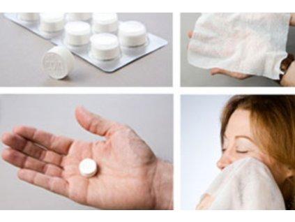 Instantní ručník 30x22cm v tabletě
