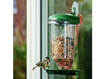 0003375 ptaci krmitko na sklo
