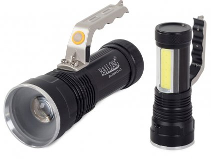 eng pl Bailong XM L T6 COB LED Police Searchlight Flashlight 2123 1 3