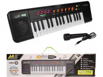 111269 detske elektronicke klavesy s mikrofonem br3071