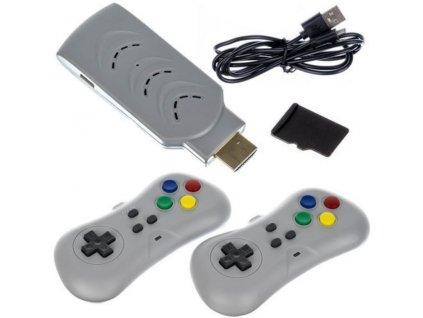 Retro TV herní konzole HDMI - 200 her