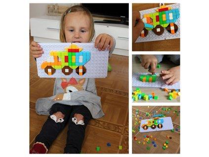 0009602 mozaikova stavebnice auta