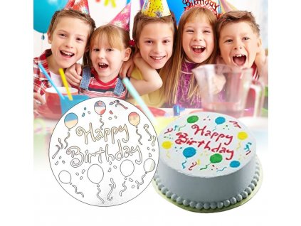 0057387 sablony na zdobeni dortu 4 ks