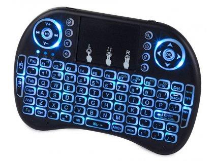 Bezdrátová mini klávesnice podsvícená