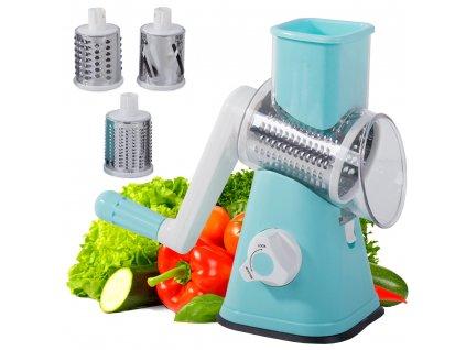 eng pl Machine slicer vegetable grater 3in1 2135 7